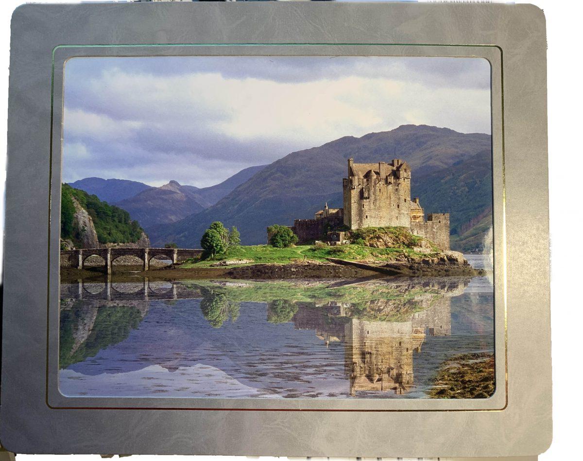 Eilean Donan Castle A4 mounted print